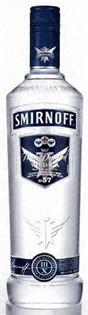 Smirnoff Vodka Blue No. 57 100@ 750ml